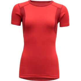 Devold Hiking t-shirt Dames rood